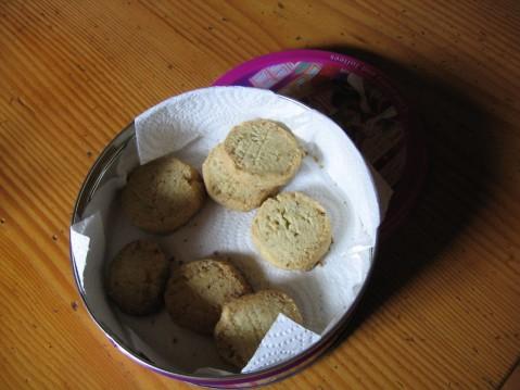 coriander cookies